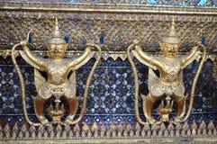 REIS PALÁCIO INTERIOR BANGUECOQUE TAILÂNDIA Imagens de Stock