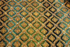 REIS PALÁCIO INTERIOR BANGUECOQUE TAILÂNDIA Imagem de Stock