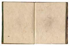 Reis-Papier-Notizbuch Lizenzfreie Stockfotografie