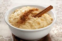Reis-Pudding Lizenzfreie Stockbilder