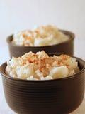 Reis-Pudding Stockbild