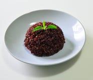 Reis Riceberry Jusmine von Thailand Stockbild