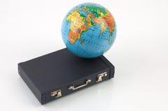 Reis rond de wereld Stock Foto