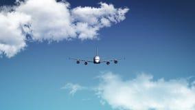 Reis rond de Wereld door vliegtuig vector illustratie