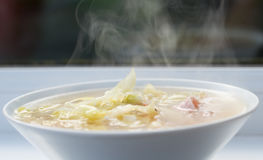 Reis-Suppe lizenzfreie stockfotos