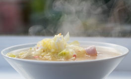 Reis-Suppe lizenzfreies stockbild