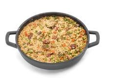 Reis und Gemüse Lizenzfreies Stockfoto