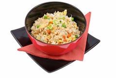 Reis und Gemüse Lizenzfreies Stockbild
