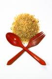 Reis und Löffel Lizenzfreie Stockfotografie