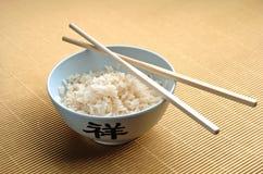 Reis und Steuerknüppel Lizenzfreies Stockbild