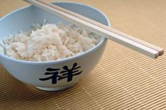 Reis und Steuerknüppel, geerntet Lizenzfreie Stockfotografie