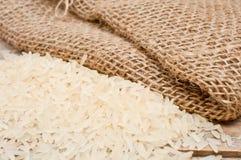 Reis und Tasche Lizenzfreie Stockfotos