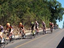 Reis van de fietsras van Alberta Stock Afbeeldingen