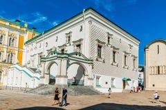 Reis 26 van het Kremlin: Paleis van de Facetten van Kreml royalty-vrije stock afbeeldingen