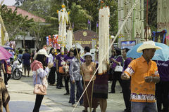 Reis windt Festival, THAILAND Lizenzfreie Stockfotos