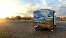 Reisaanhangwagen Sean Stock Afbeeldingen