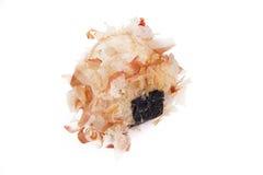Reisball Onigiri lokalisiert im weißen backgound Lizenzfreies Stockfoto