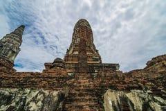 Reise in alter Stadt Ayutthaya Lizenzfreies Stockbild