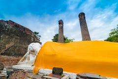 Reise in alter Stadt Ayutthaya Lizenzfreie Stockfotografie
