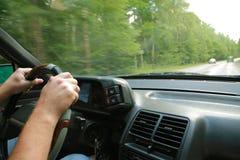 Reise auf dem Auto Lizenzfreie Stockbilder