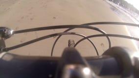 Reise auf dem Radfahren Canaries Spanien stock video