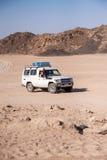 Reise auf der Wüste nahe Hurghada Lizenzfreies Stockfoto