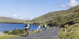 Reise auf Fahrrad lizenzfreie stockfotos