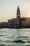 Reise auf Grand Canal in Venedig Stockbild