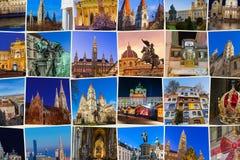Reise-Bildhintergrund Wiens Österreich meine Fotos Stockfoto