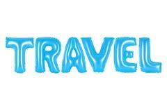 Reise, blaue Farbe Stockbilder