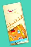 Reise-Broschüre Lizenzfreies Stockfoto