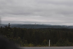 Reise in den Bergen Lizenzfreies Stockbild