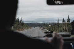 Reise in den Bergen Lizenzfreies Stockfoto