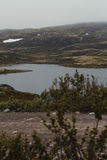 Reise in den Bergen Stockfotografie