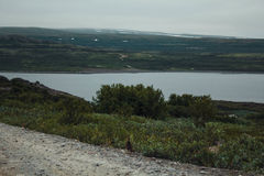 Reise in den Bergen Stockfotos