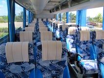 Reise durch Bus Stockbild