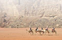 Reise durch die Wüsten von Ägypten Stockfotos