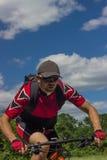 Reise durch Fahrrad Lizenzfreies Stockfoto