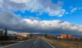 Reise durch Ost-Serbien stockbild