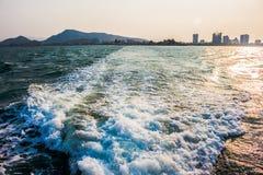 Reise durch Seeschiff Lizenzfreies Stockfoto
