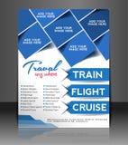 Reise-Flieger stock abbildung