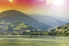 Reise in Fluss-Duero-Region Stockbilder