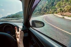 Reise im Auto stockbilder