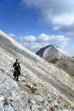 Reise im Berg Lizenzfreies Stockbild