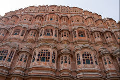 Reise Indien: Windpalast in Jaipur, Rajasthan Lizenzfreie Stockbilder
