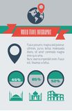 Reise Infographic-Element Lizenzfreie Stockbilder
