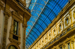 Reise in Italien: Mailand, Lombardia Lizenzfreies Stockfoto