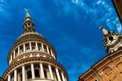 Reise in Italien: Novara, Piemonte Lizenzfreie Stockfotos