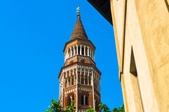 Reise in Italien: Novara, Piemonte Lizenzfreie Stockbilder