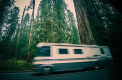 Reise Kaliforniens RV stockfotografie
